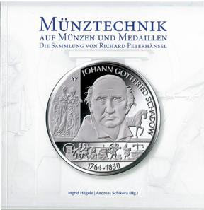 Buch über Münztechnik Auf Münzen Und Medaillen Neu Aufgelegt
