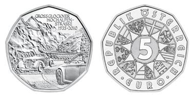 österreich Präsentiert 5 Euro Gedenkmünze Zum 75 Geburtstag Der