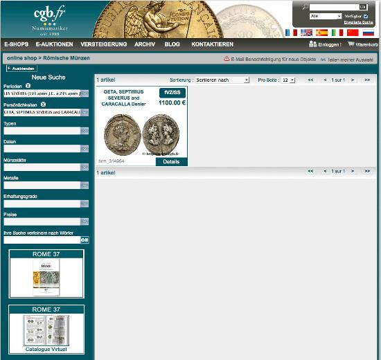 Suchmaschinen Für Münzpreise Im Vergleich Archiv Münzenwoche