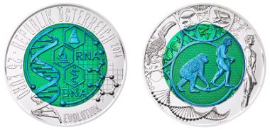 Münze österreich Präsentiert Zweifarbige Niob Münze News Münzenwoche