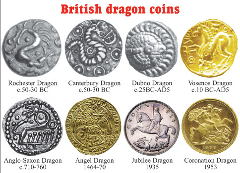 Einzigartige Münze Mit Drachenmotiv Aus Kent Archiv Münzenwoche