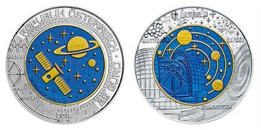 Neue Niob Münze Kosmologie Der Münze österreich Archiv Münzenwoche