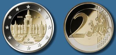 Drei Neue 2 Euro Gedenkmünzen In Der Bundesländer Serie News