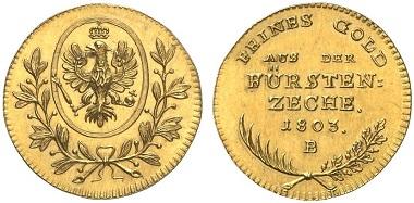Gold Aus Goldkronach Archiv Münzenwoche