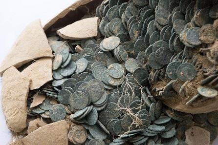 600 Kg Römische Münzen In Amphoren Gefunden Archiv Münzenwoche