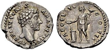 Die Münzen Der Lucilla In Purpur Geboren Archiv Münzenwoche