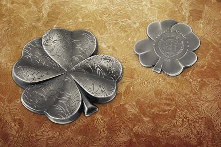 Cit Prägt Münze In Kleeblattform Als Glücksbringer News Münzenwoche
