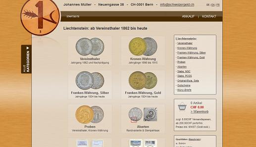 Die Numismatische Geschichte Liechtensteins Online Archiv