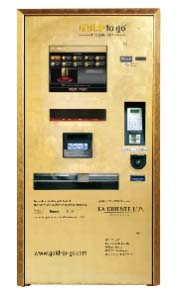 The world's first gold vending machine.
