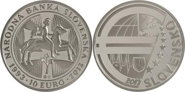 Silbermünze Auf Nationalbank Der Slowakei Archiv Münzenwoche